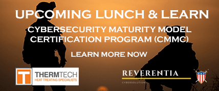 ThermTech and Reverentia Cybersolutions to Host Lunch and Learn Event on Oct. 22nd